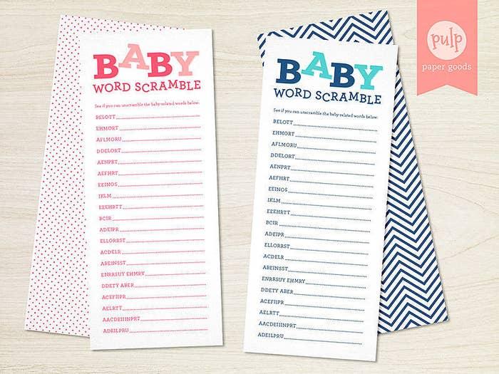 Juegos Chistosos Para Baby Shower Mixto