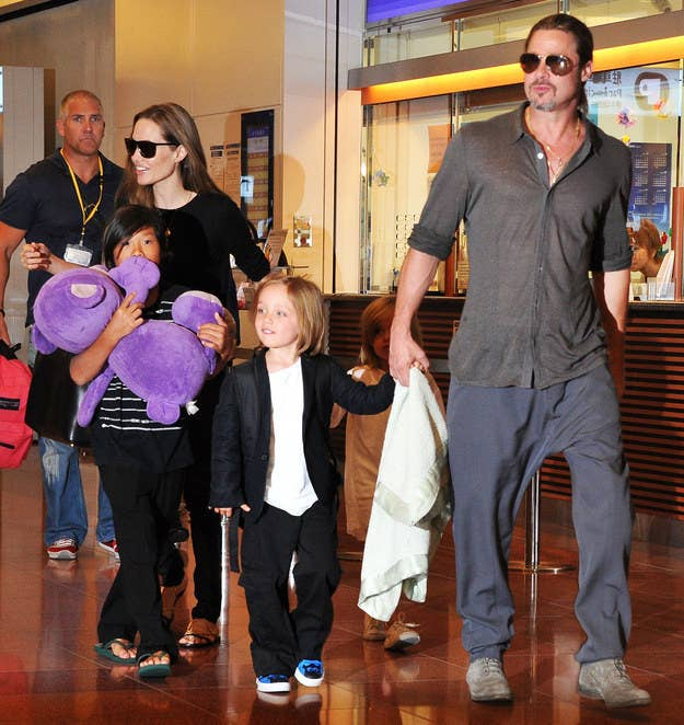 Make a list of celebrity moms and see who can name all of their kids.