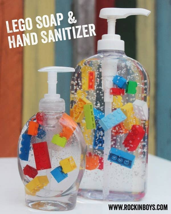 Lego Soap and Hand Sanitizers