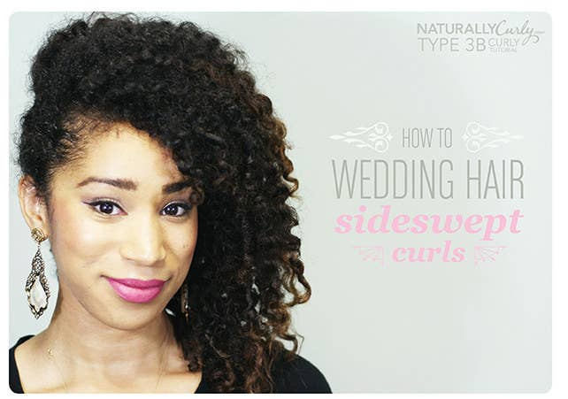 31 gorgeous wedding hairstyles you can actually do yourself sideswept curls get directions here solutioingenieria Images