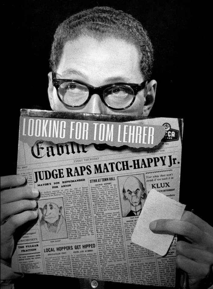 Looking For Tom Lehrer, Comedy's Mysterious Genius