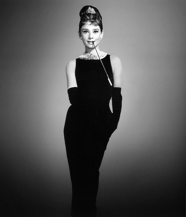 Diamonds, pearls, and the iconic little black dress
