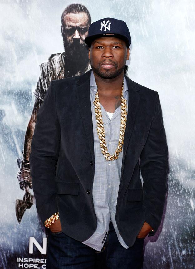50 Cent — drug dealing, assault and battery.
