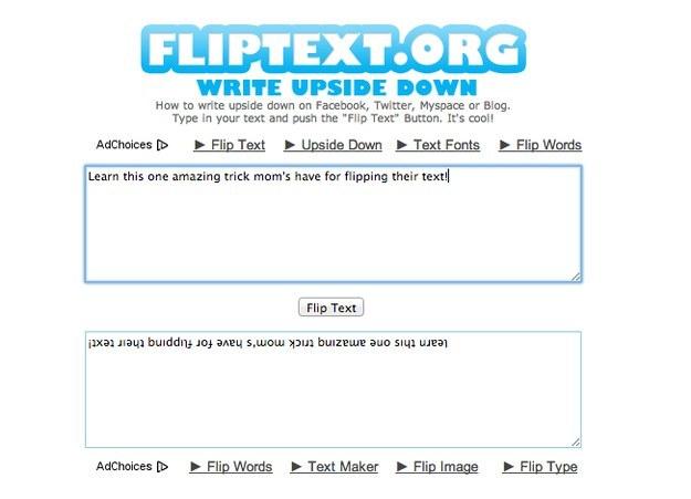 Flip Text