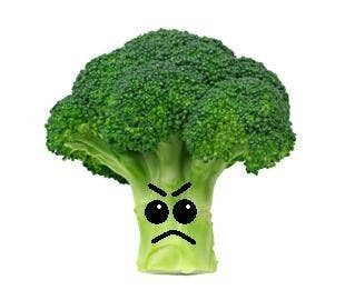 Although he may look quite intimidating, broccoli is actually one heck of a vegetable! It's a great source of vitamins, such as vitamin C (that is also found in various citrus fruits) or vitamin K, and along with several other awesome things, like helping cure the common cold, it reduces risk of stroke and heart disease!Yummy broccoli recipes You go broccoli!