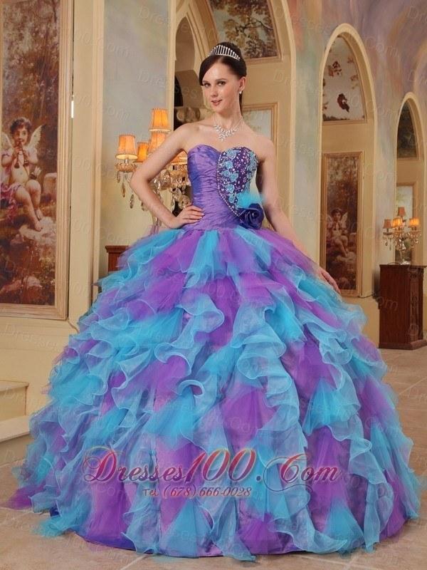 El vestido de quinceanera mas hermoso del mundo