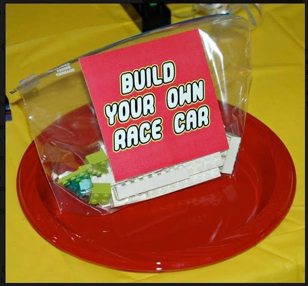 want a two part activity kids will love start by handing out build your own race car kits