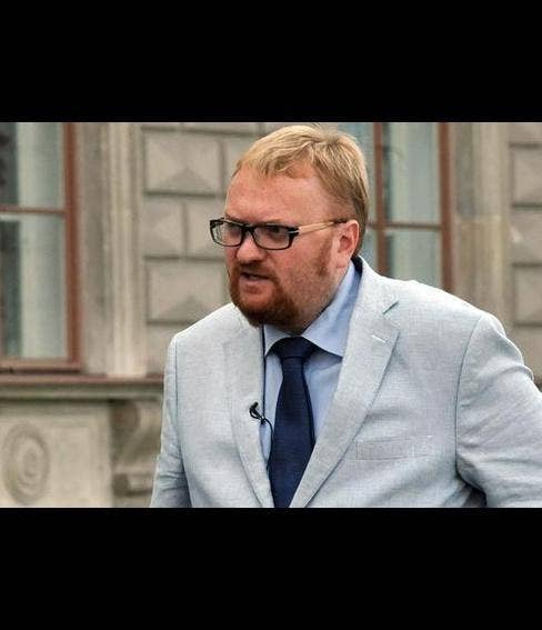 """This is Vitaly Milonov, the lawmaker from St. Petersburg who sponsored the ordinance that became the model for Russia's """"homosexual propaganda"""" law. On Tuesday, Milonov called for Russia to boycott the competition and withdraw its representatives from the competition, saying it had become a """"pan-European gay pride parade.""""""""The participation of the obvious transvestite and hermaphrodite Conchita Wurst, on the same stage as Russian singers, on live television — this is clearly propaganda of homosexuality and spiritual decay,"""" Milonov said."""