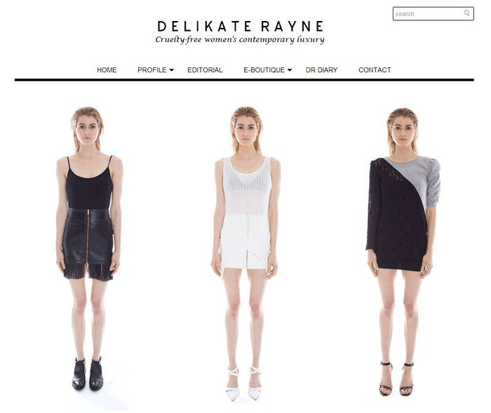 Delikate Rayne is a contemporary luxury brand that specializes in women's wear. They use premium vegan materials for their products without sacrificing the element of a sleek, minimalistic style. Fashion forward and green? Yes, please!Eco-Friendly ✓Animal-Friendly ✓Cruelty-free ✓Vegan ✓