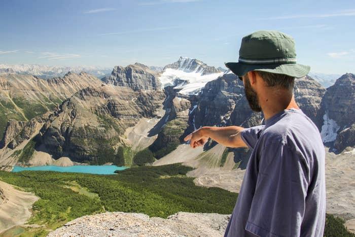 Look! It's Alberta! One of Canada's three prairie provinces.