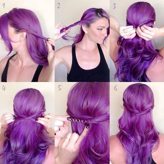 21 peinados ridículamente fáciles que puedes hacer con pinzas