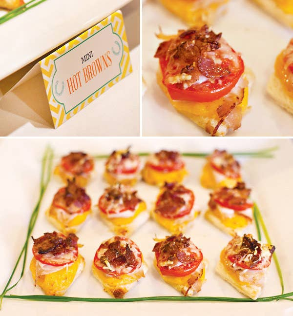 Recipe here, and more super cute Derby party ideas here.