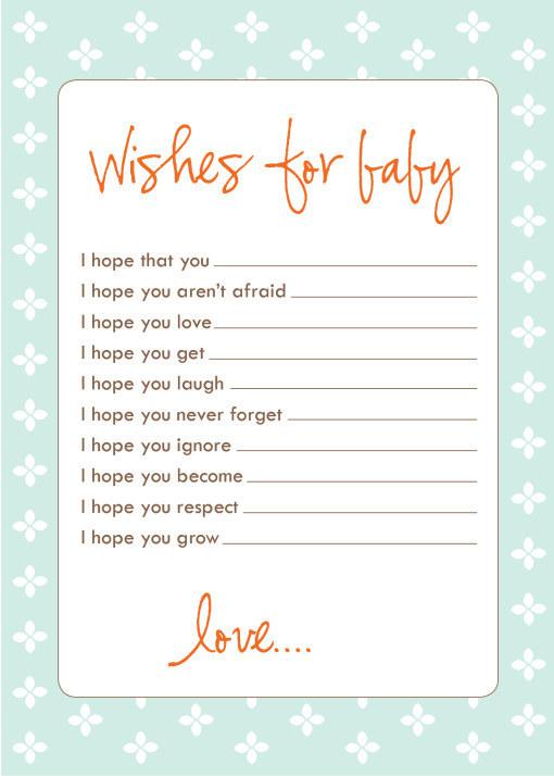 Good Baby Wish List