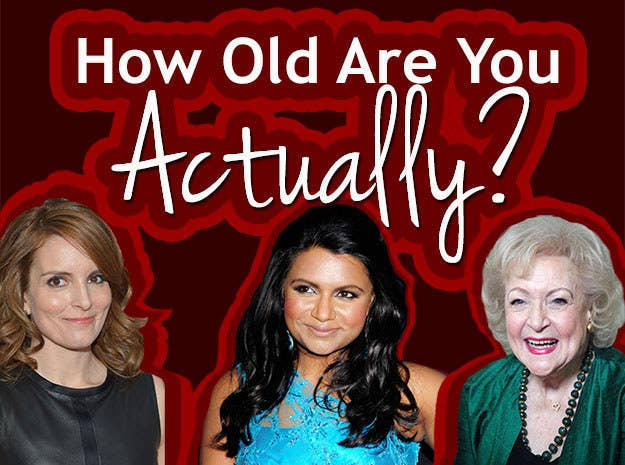 How Old Are You Actually?