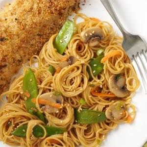 10. Asian Spaghetti