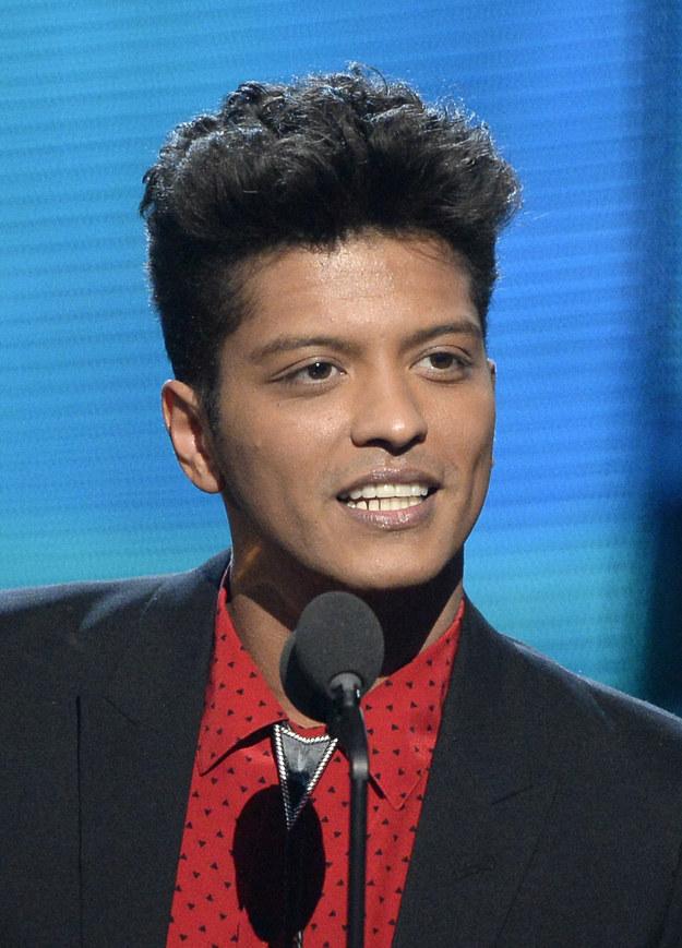 Bruno Mars — drug possession.