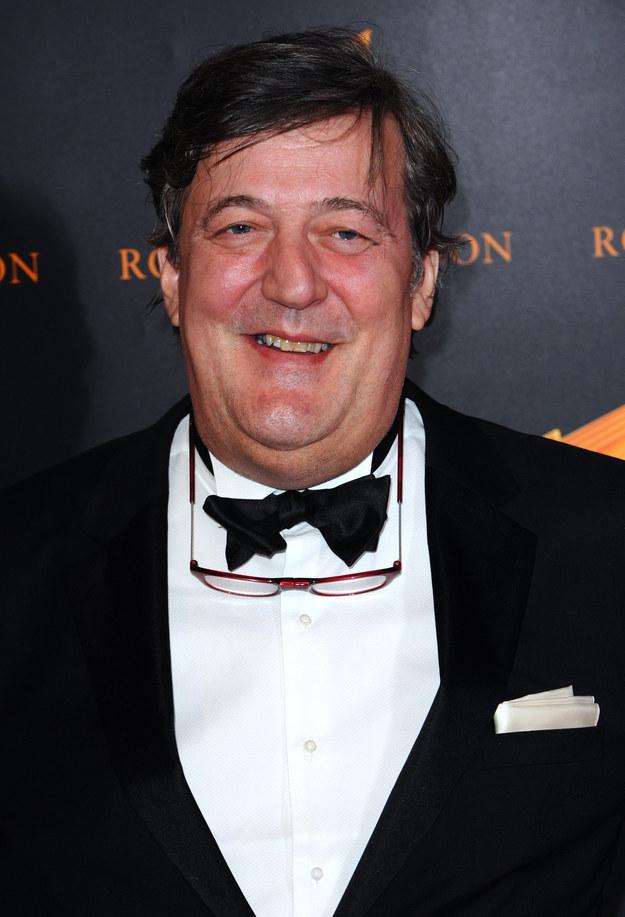 Stephen Fry — credit card fraud.