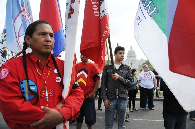 Native American Activists Argue Feds Building Keystone Will Lead To Rape