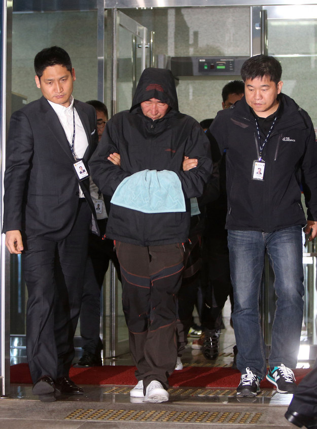 Captain Of South Korean Ferry Videotaped Abandoning Ship Before His Passengers