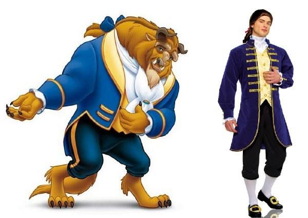 disney prince adam costume
