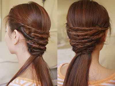 The Quick And Easy Hair Twist