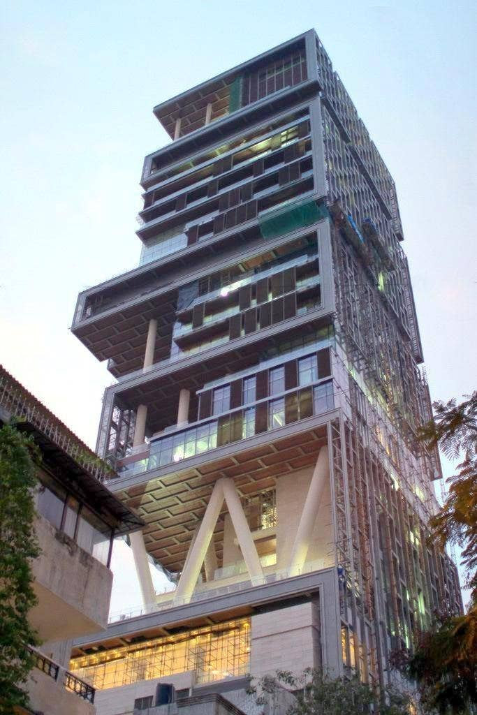 antilla is a residential complex situated in south mumbai india the owner of it