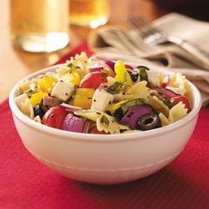 2.. Italian Basil Pasta Salad