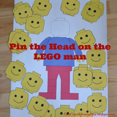 Put A Lego Twist On Classic Birthday Party Game