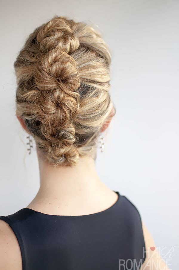 31 gorgeous wedding hairstyles you can actually do yourself 5 the twist and pin solutioingenieria Image collections