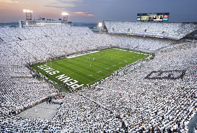 Every year over 107,000 fans wear all white and create an intimidating atmosphere for the biggest game of the year. Powerhouse teams like Ohio State, Michigan, Notre Dame, and Alabama have struggled heavily against the deafening roar of the White Out Crowd.