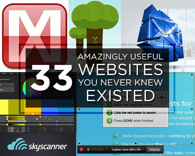 Amazingly Useful Websites You Never Knew Existed - 22 incredibly useful websites you needed but didnt know existed thank me later for 10