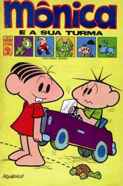 Originalmente publicado em 1970, com os personagens ainda um pouco diferentes de como viriam a ficar.