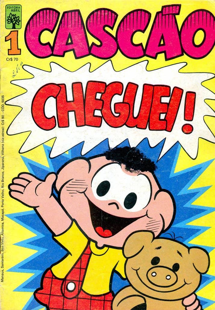 O personagem ganhou revistinha própria em 1982.