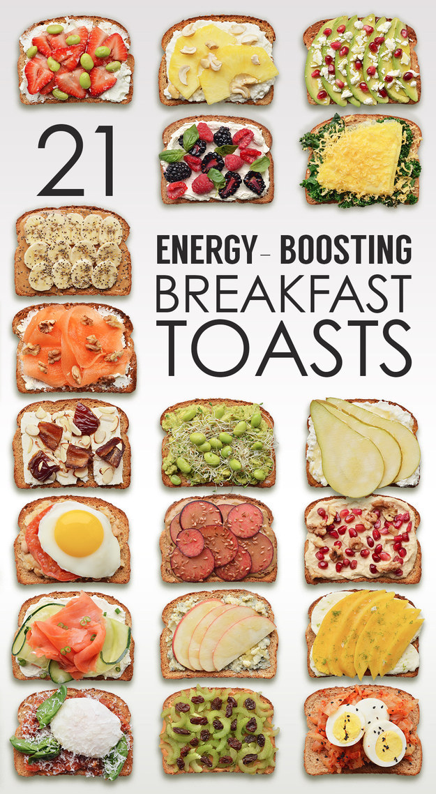 Healthy breakfast health alliance blog helping you be your best 21 energy boosting breakfast toasts forumfinder