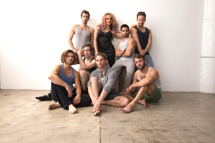 So, in case you've been living under a rock that doesn't have a decent WiFi connection, EastSiders is a series that follows the aftermath of a cheating scandal between gay L.A. couple Cal (Mad Men's Kit Williamson) and Thom (As The World Turns' Van Hansis). The first episode debuted on YouTube in December of 2012 to such a positive reaction that the rest of the season was then completely funded on Kickstarter in just four days, eventually leading to a pickup by LogoTV. Today Williamson (also the series creator) announced via press release that season 2 is now underway. So, why is that such good news? I'm glad you asked!