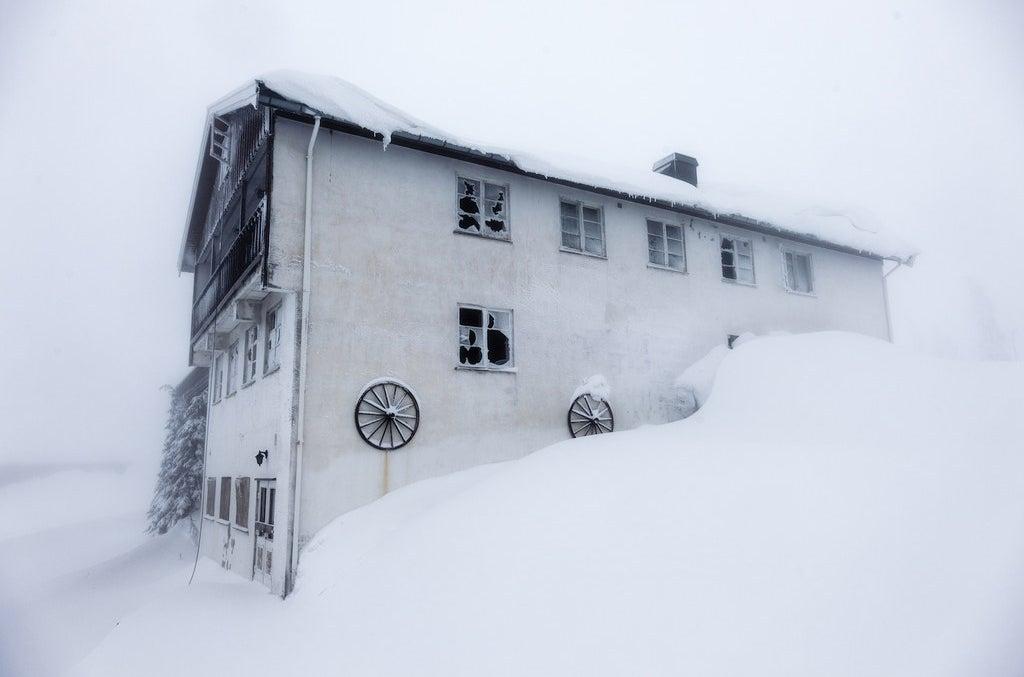 L'auberge de montagne Bislingen en Norvège