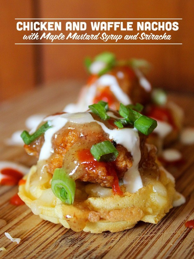 Chicken And Waffles Recipe 24 mind-blowing ways to eat chicken and ...