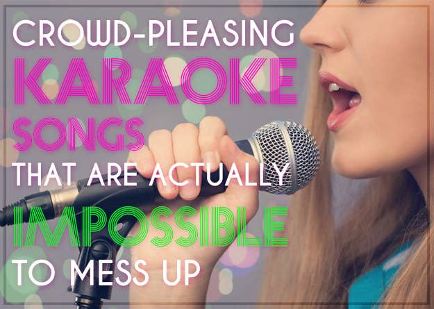 25 Crowd-Pleasing Karaoke Songs That Are Actually Impossible