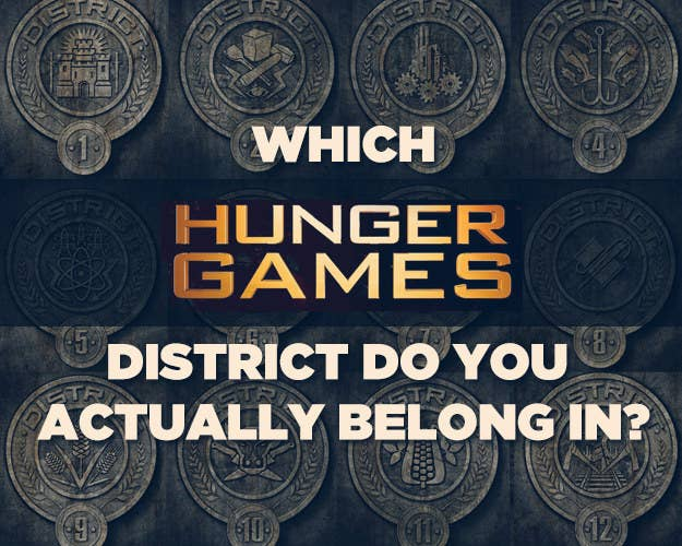 Which Hunger Games District Do You Actually Belong In
