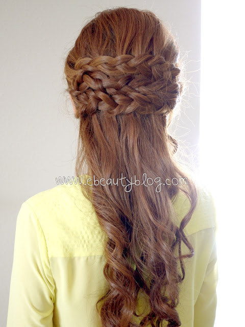 The Half Crown Braid