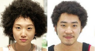 Some pay up to $300 for an Afro texturizer perm in Japan.