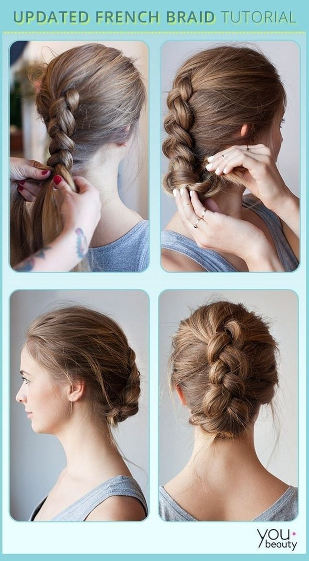 Fine 23 Creative Braid Tutorials That Are Deceptively Easy Short Hairstyles Gunalazisus