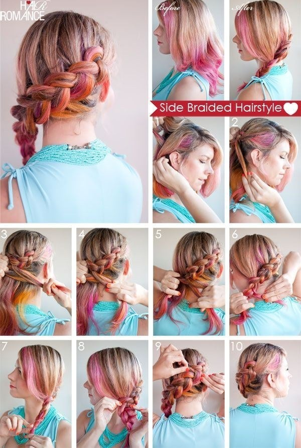 Incredible 23 Creative Braid Tutorials That Are Deceptively Easy Hairstyles For Men Maxibearus