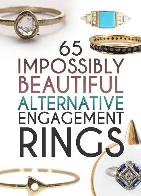 share on facebook share - Alternative Wedding Rings