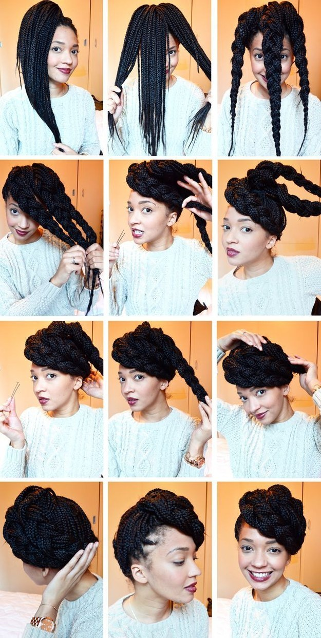 Cool 23 Creative Braid Tutorials That Are Deceptively Easy Short Hairstyles For Black Women Fulllsitofus