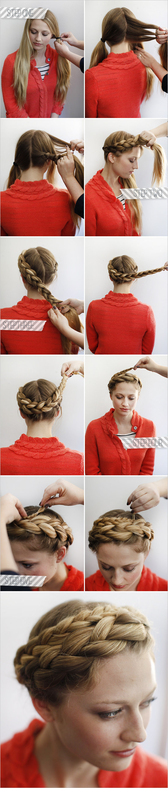 Surprising 23 Creative Braid Tutorials That Are Deceptively Easy Hairstyles For Women Draintrainus