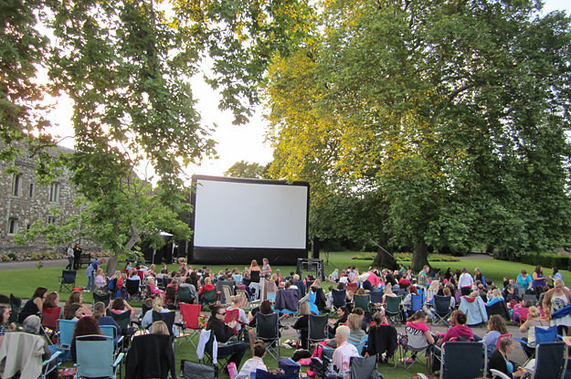 22 Spectacular Open Air Cinemas In The UK