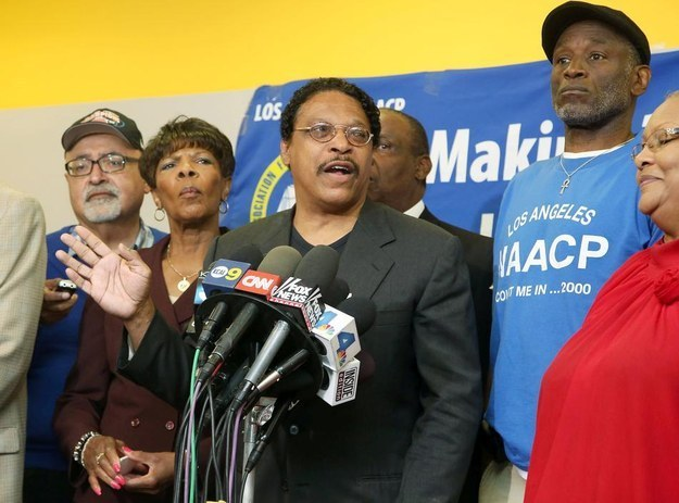 The President Of NAACP's Los Angeles Branch Resigns Under Pressure