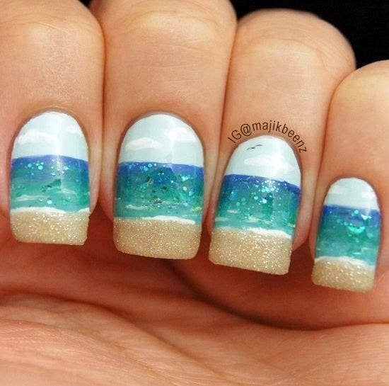 Summertime Nail Designs Best Nail Design 2018