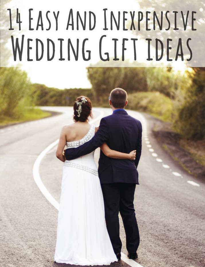 14 easy and inexpensive wedding gift ideas share on facebook share negle Gallery